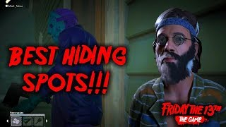 My favorite hiding spots in F13   learn where to hide and how to pull it off!