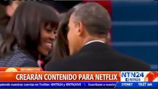 ¡Rompiendo esquemas! Barack Obama y su esposa producirán películas y series para Netflix