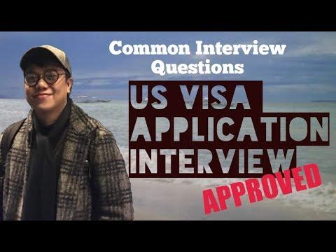 Mga Common Questions Sa US Visa Interview | #TravelTips | Daxofw