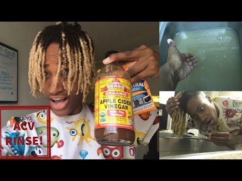 acv-+-baking-soda-rinse-on-dreadlocks-(first-time❗️)