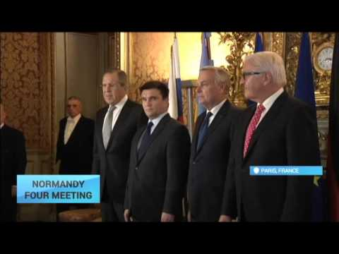 FMs Meet to Discuss Ukraine: 'Normandy Four' talks end with no visible breakthrough