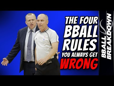 4 Basketball RULES You ALWAYS Get WRONG