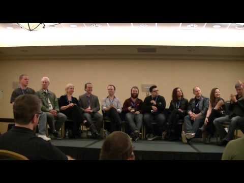 Young Justice Panel at Gallifrey One 2014
