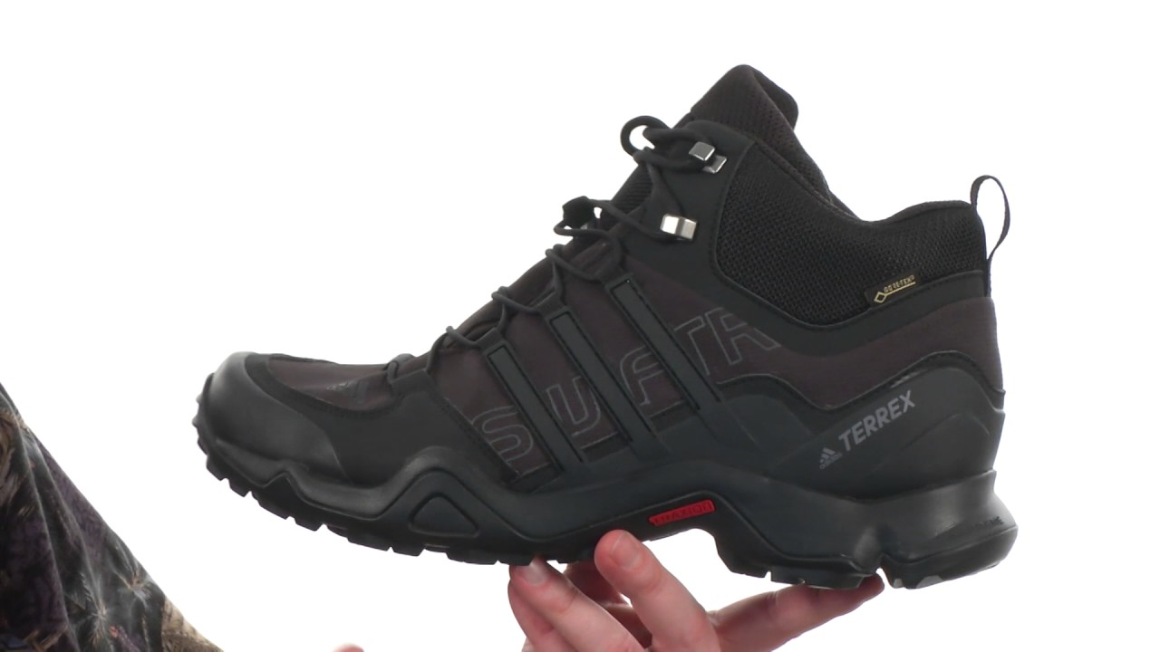 ab1fba7ff adidas Outdoor Terrex Swift R Mid GTX SKU 8809245 - YouTube
