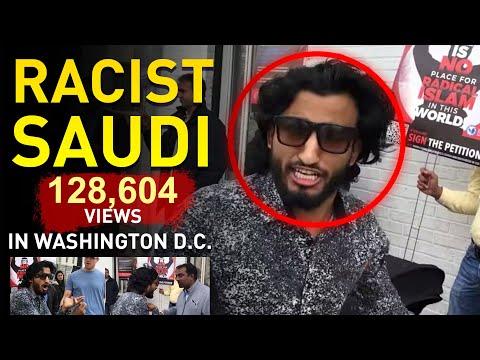 White American Shuts Up A Rampaging Saudi