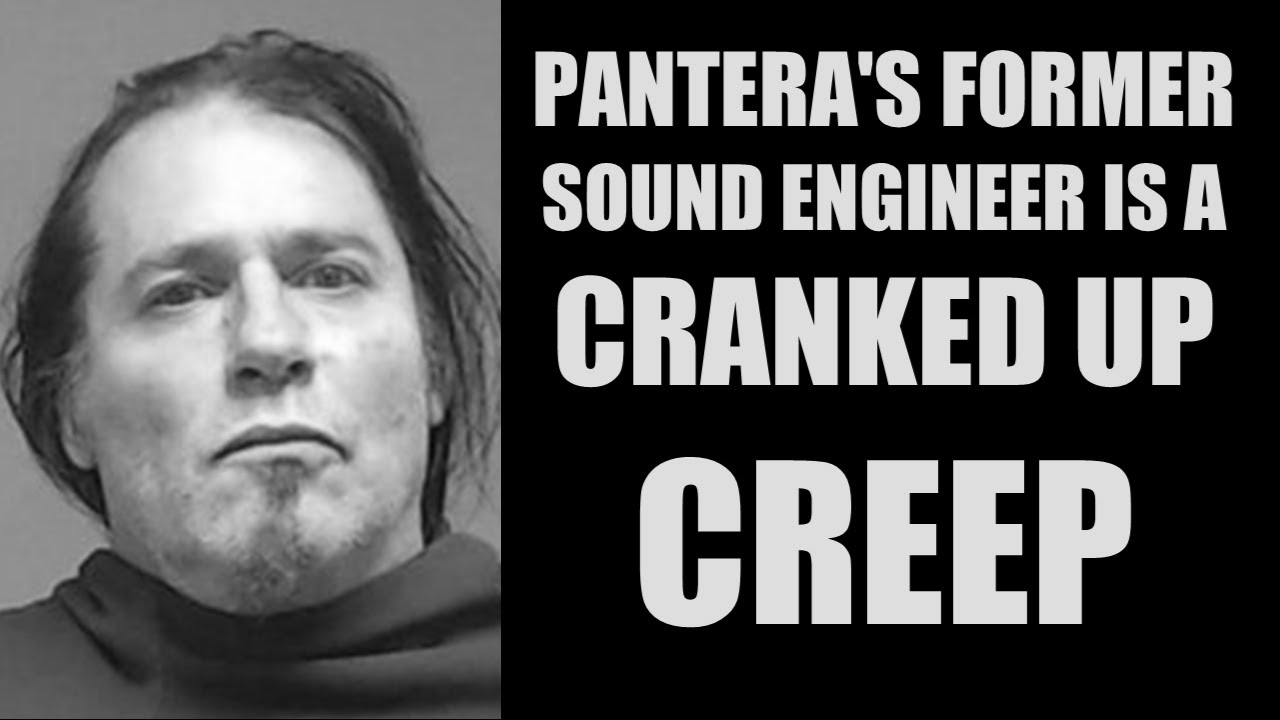 Pantera's Former Sound Engineer Arrested For Sex Crimes