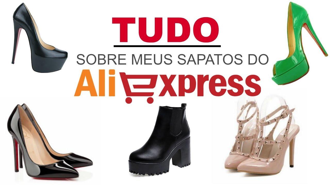 cd9de2615 Como comprar sapatos no ALIEXPRESS - YouTube