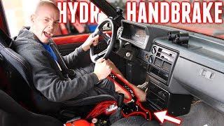 v8-drift-truck-gets-a-custom-hydro-handbrake-setup