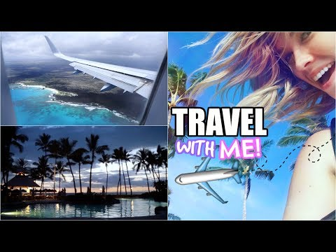 Travel With Me to Hawaii! ✈️ (The Big Island) | TRAVEL VLOG!
