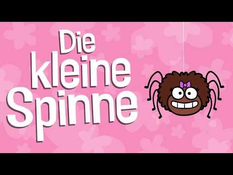 ♪ ♪ Kinderlied Spinne - Die kleine Spinne - Hurra Kinderlieder