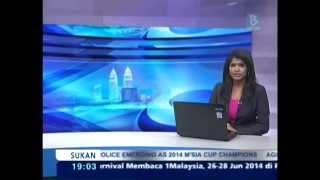 Singapore World Indian Festival 2014 - Bernama TV Tamil News (29th June)