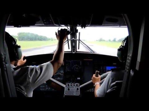 Twin Otter DHC-6-400, Takeoff & Landing, Mukah & Kuching Airport, 3 May 2015.