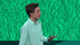 Aidan Cares-The Joy of Giving - Live @ LeaderCast 2016