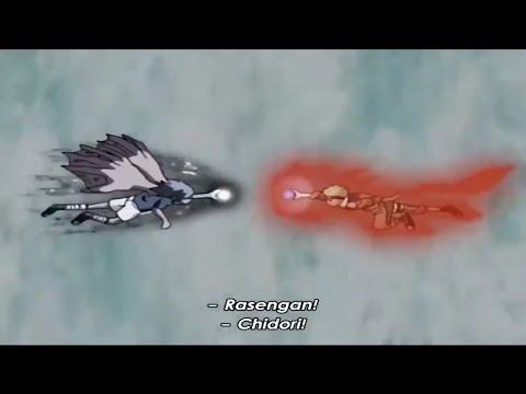 Naruto Vs Sasuke At The Valley Of The End [Eng Sub]