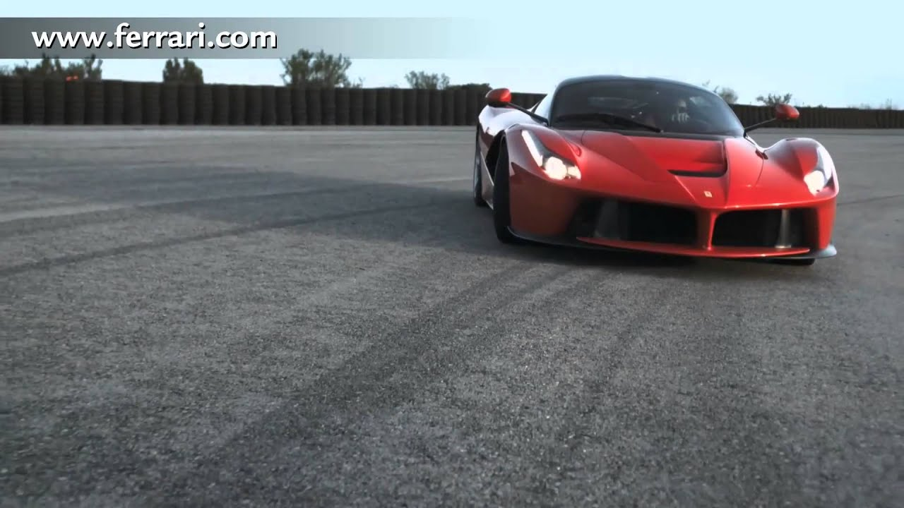2013 new ferrari laferrari enzo hd in detail first commercial - youtube