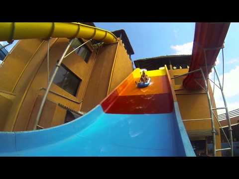 gopro africa - morocco water park fun edit