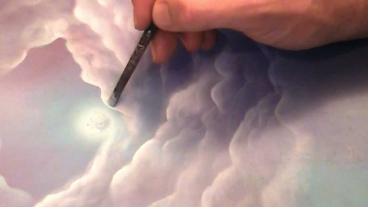 How To Paint A Fantasy Fairy Tale Landscape And Clouds
