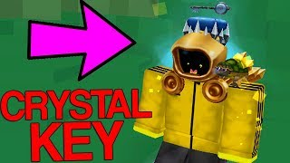HOW TO GET THE CRYSTAL KEY FOR THE GOLDEN DOMINUS! (Roblox)