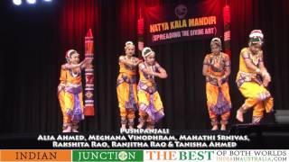 Bharat Natyam Pushpanjali at Kala Niketan Annual function
