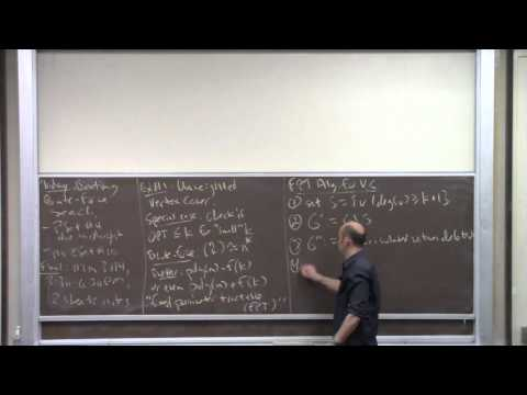 CS261 Lecture 19 (Beating Brute Force)