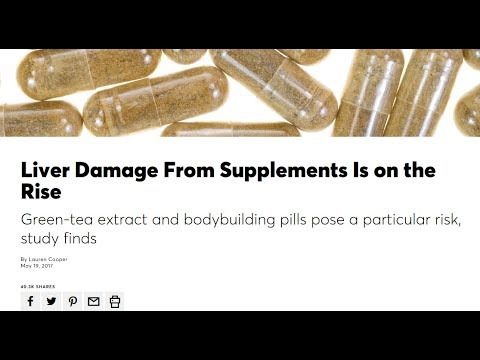 Consumer Reports Puts The Supplement Industry On Blast - Liver Damage & Drug Spiking