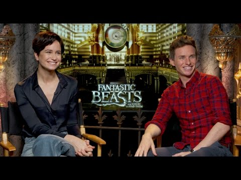 Thumbnail: FANTASTIC BEASTS AND WHERE TO FIND THEM INTERVIEWS - Redmayne, Ezra Miller, Farrell, Waterston