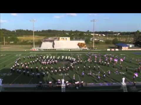Hinds Community College Marching Band 2014 (Earth, Wind, And Fire)