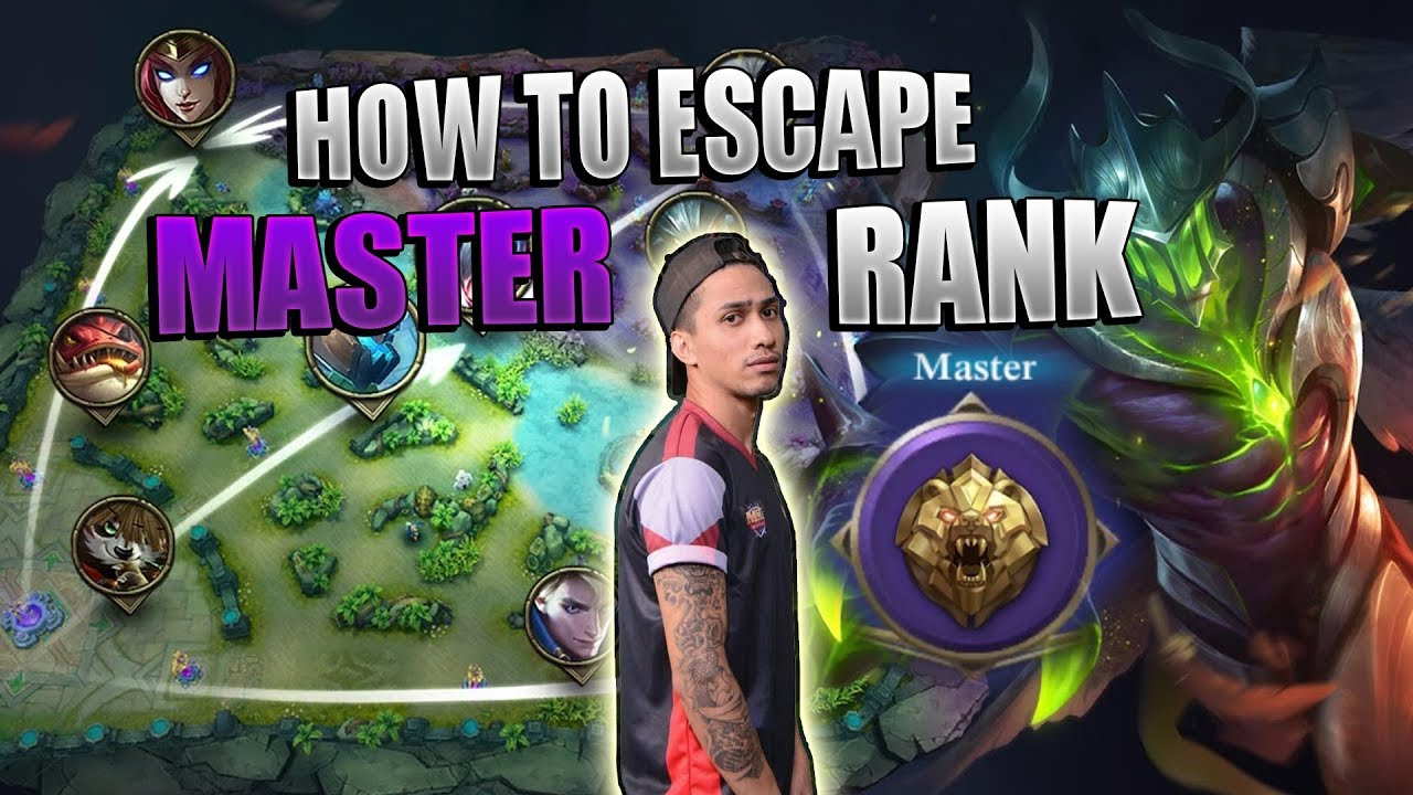 HOW TO ESCAPE MASTER RANK -1000 DIAMONDS GIVEAWAY - MOBILE LEGENDS - COACHING - GAMEPLAY - GUIDE