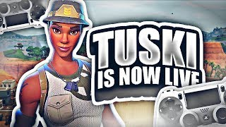 NEW CLAN TRYOUTS | DECENT CONSOLE BUILDER | 500+ WINS, 14,000+ KILLS (FORTNITE BATTLE ROYALE)