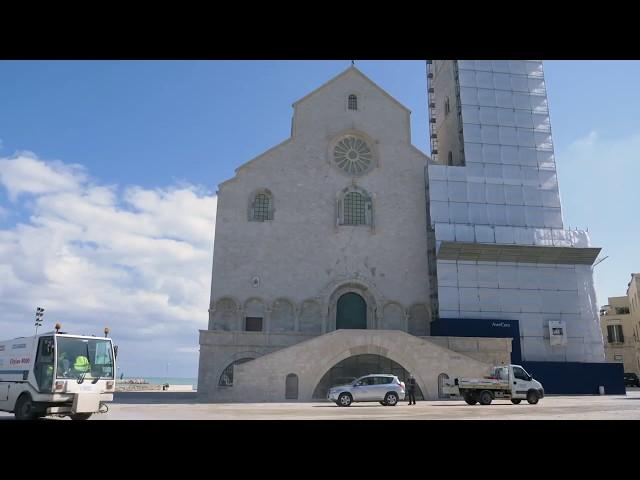 Intervento di sanificazione della Basilica Cattedrale. 09/03/2020
