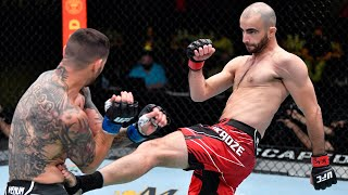 Top Finishes From UFC Vegas 35 Fighters