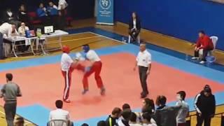 Emircan Korkmaz Boxing Highlights - Kickboks Maçında BOKS Yapmak