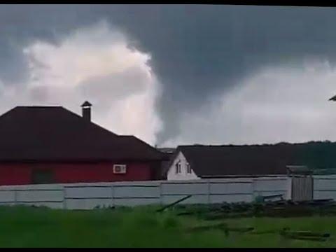 Торнадо ударил по Белгороду! 1 июня 2020 года