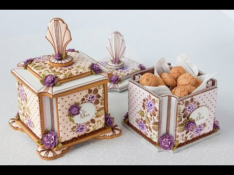 3-D Mother's Day Cookie Box