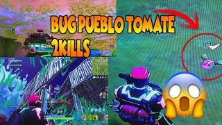 BUG IN PEOPLE TOMATE!! HOW TO METRE WITHIN THE MOUNTAIN-FORTNITE BATTLE ROYALE