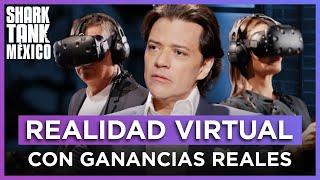 ¡Los Tiburones prueban un juego de realidad virtual! | Shark Tank México