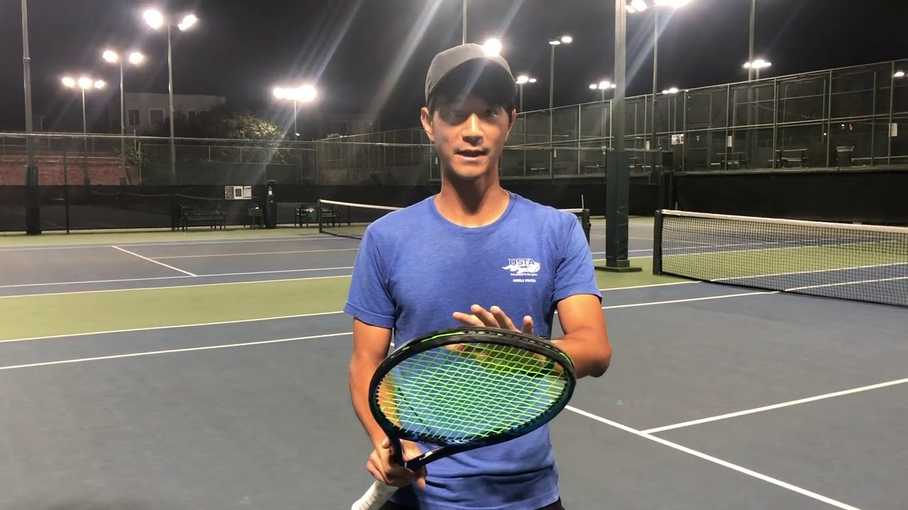 INSIDE OUT FOREHAND DRILL WITH COACH ANDREW GU