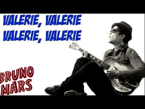 Bruno Mars - Valerie (with Lyrics) [New Song 2011]