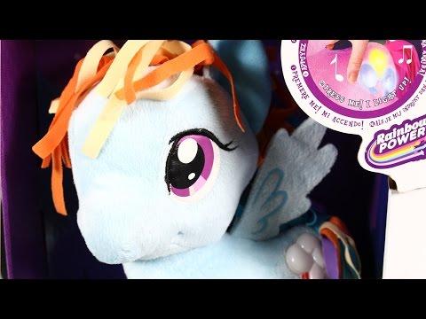 Rainbow Dash Cutie Mark Light Up Plush / Rainbow Dash Z Dźwiękiem I Światłem - My Little Pony