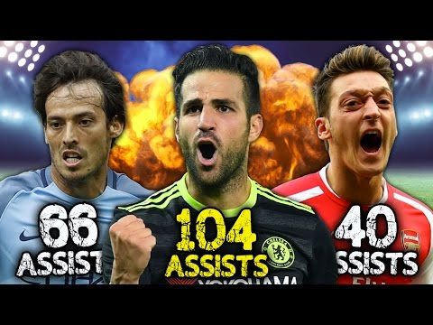 Is Cesc Fabregas the Best CREATOR in Premier League History..? | #StatWars