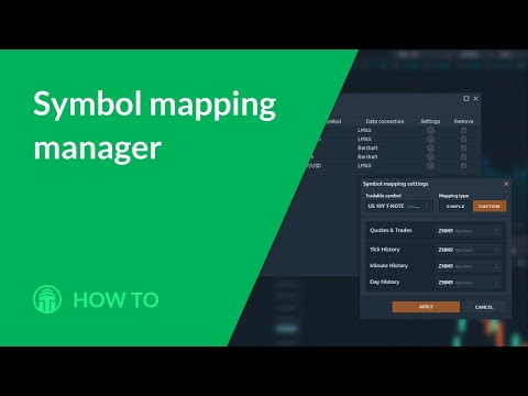 Symbols Mapping Manager. How to combine two connections?