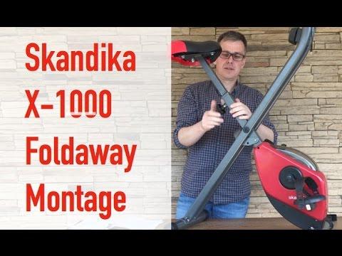 skandika foldaway x 1000  ERGOMETER & HEIMTRAINER Montage Skandika X -1000 - YouTube