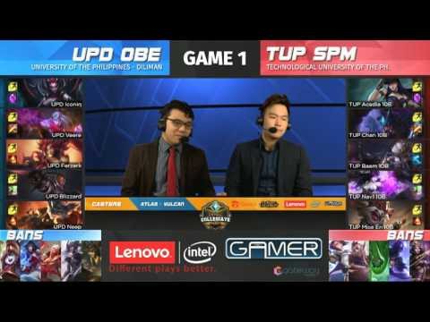LCL 2017 Spring Term | Finals | - UP vs TUP Game 1/4