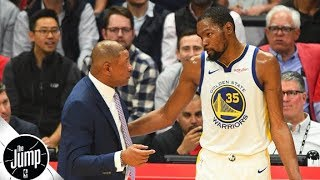Warriors should feel confident about re-signing Klay, but not KD – Byron Scott | The Jump