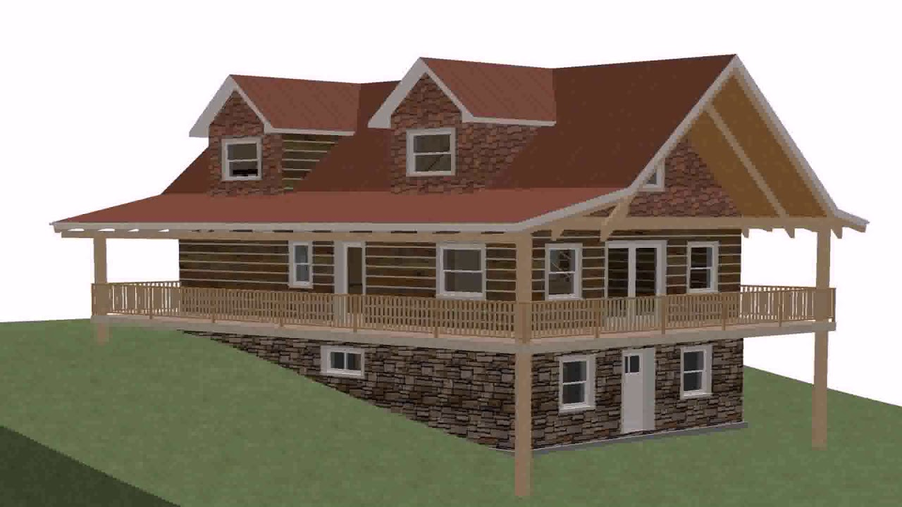 One Level House Plans With Daylight Basement (see ...
