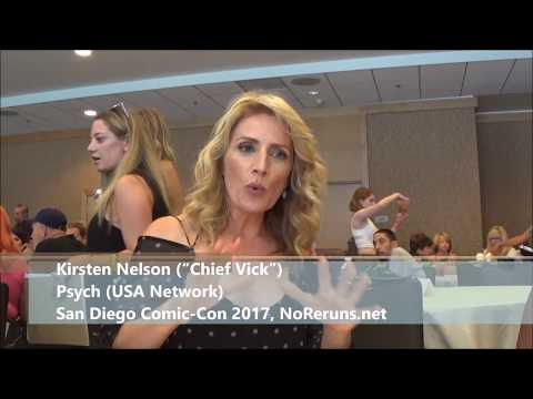 Psych: The Movie Q&A with Kirsten Nelson (SDCC 2017)
