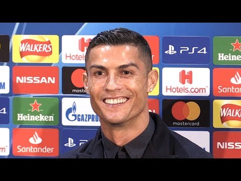 Cristiano Ronaldo Full Pre-Match Press Conference - Manchester United v Juventus - Champions League