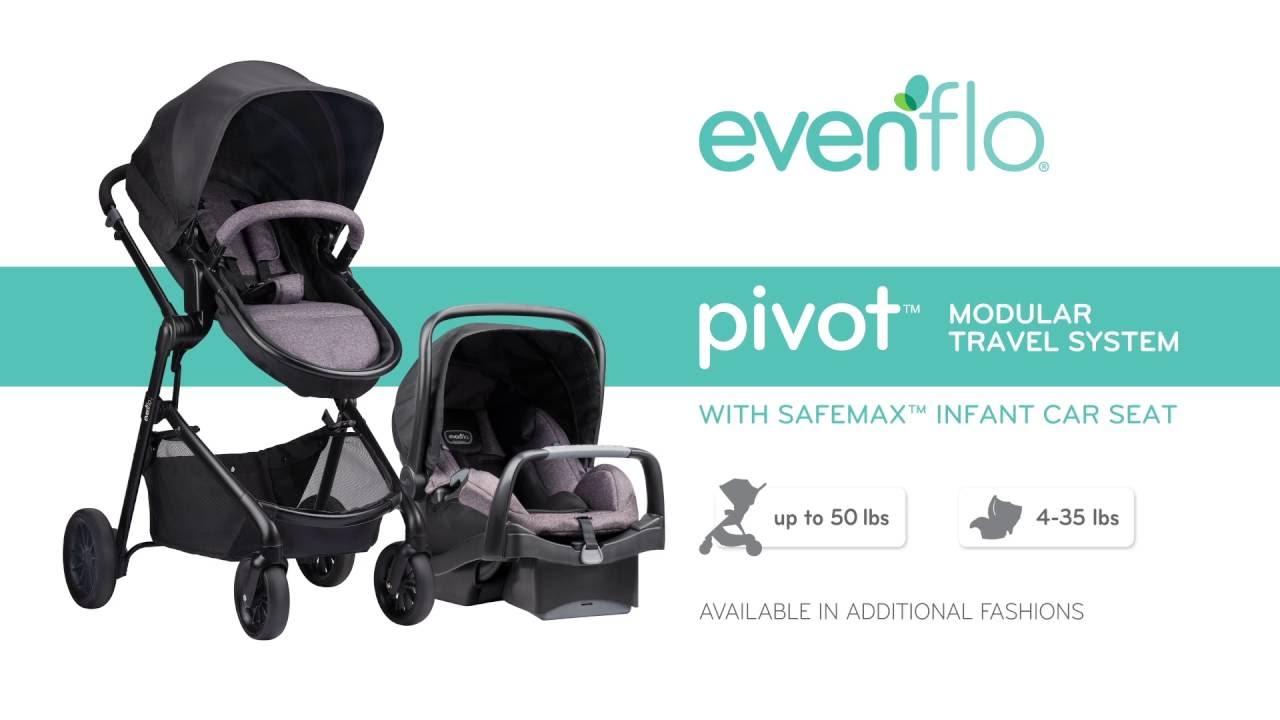 Evenflo Pivot Travel System