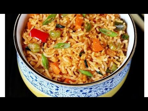 How to make Shezwan rice