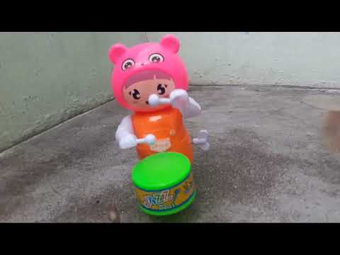 Jazz beat music drum toy for small kids